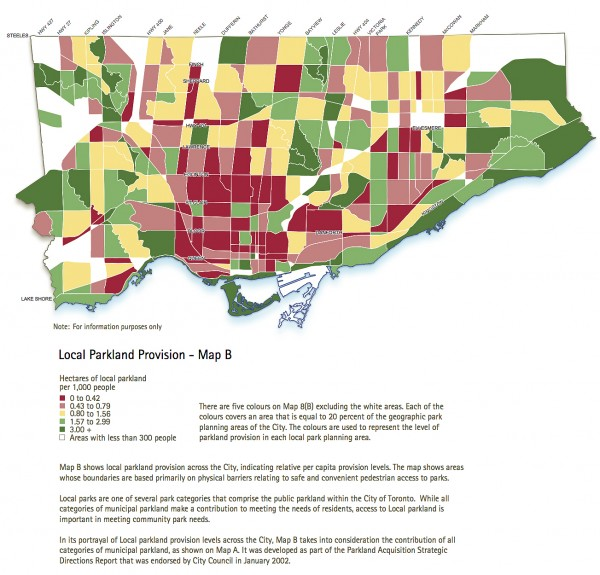Parks Crisis Map 5 parkland provision map OP
