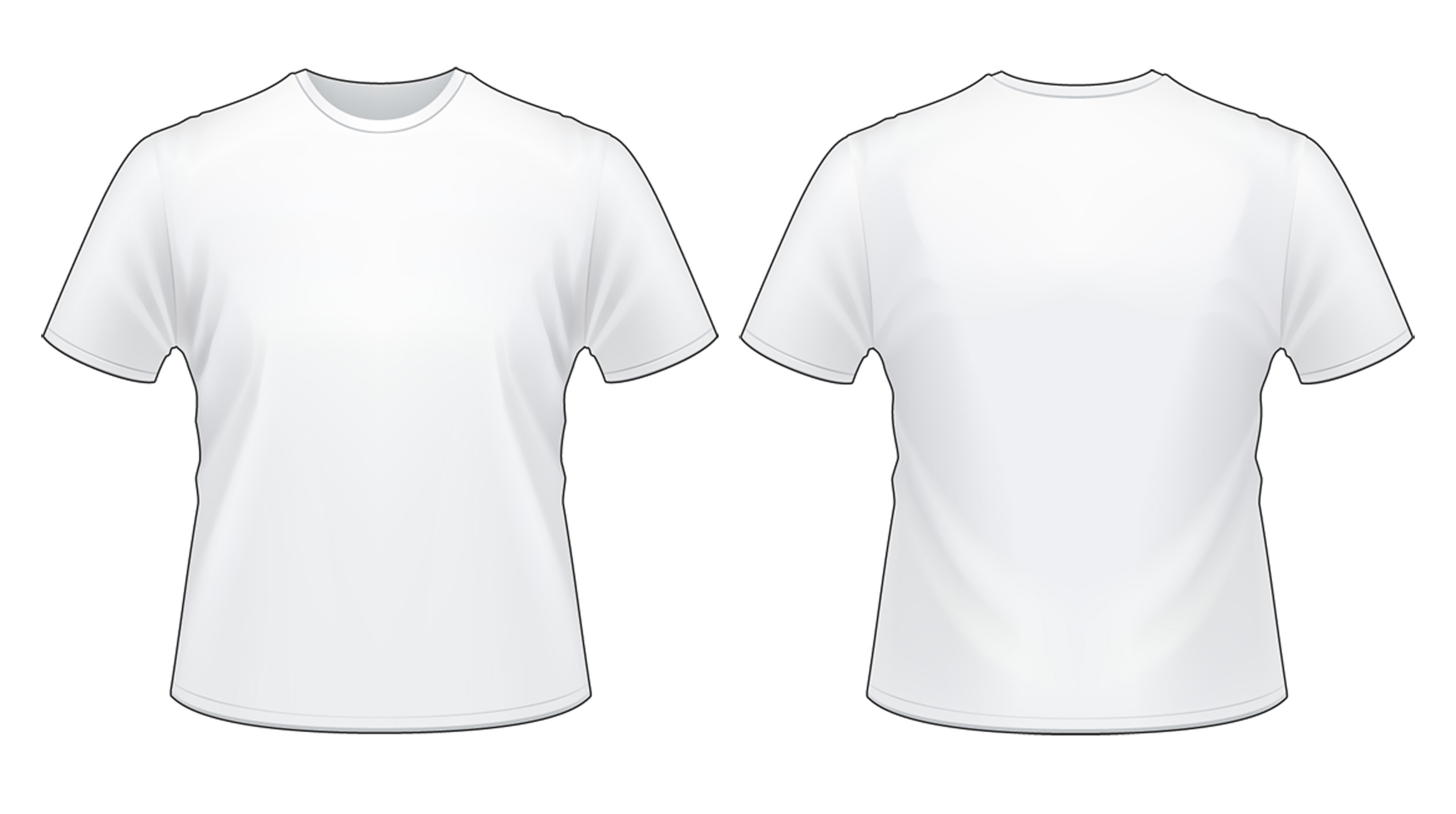 View T Shirt Template