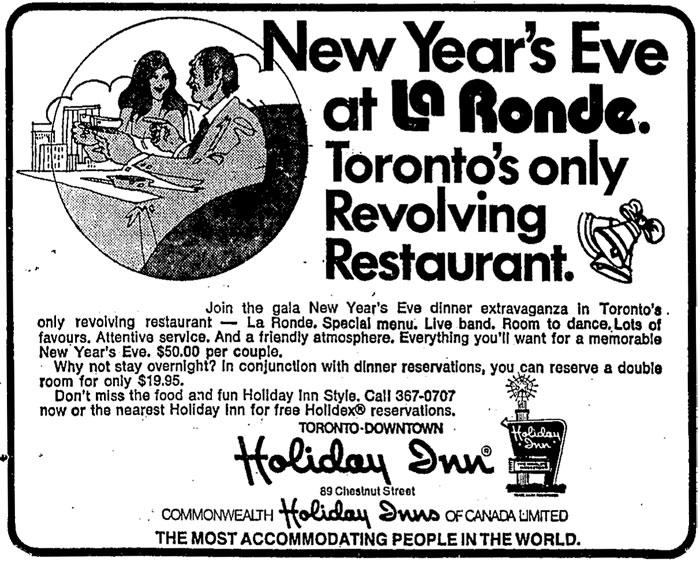 toronto la ronde holiday inn