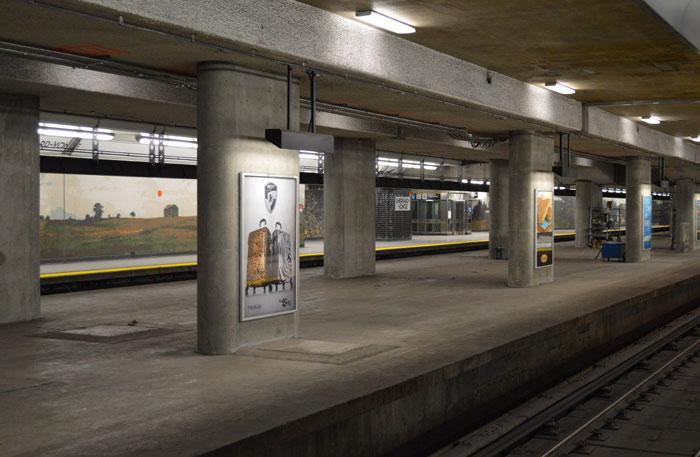 toronto ttc sheppard platform