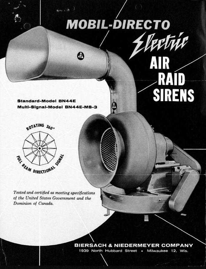 toronto air raid siren