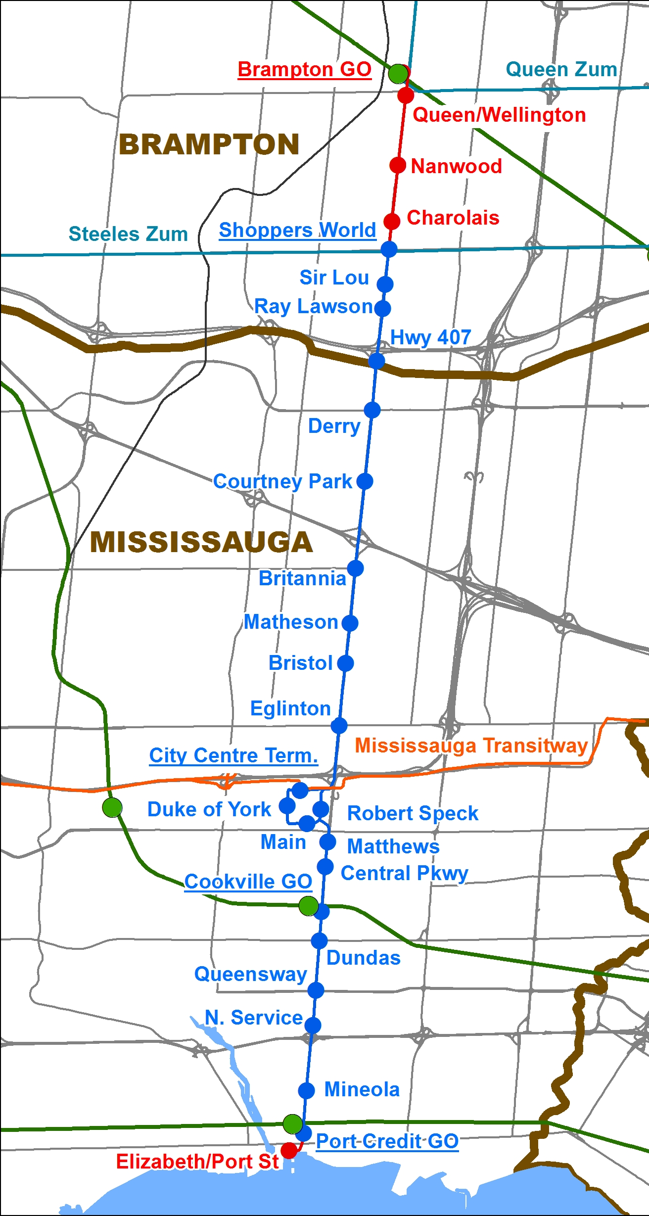 On Brampton\'s short-sighted Hurontario-Main LRT decision - Spacing ...