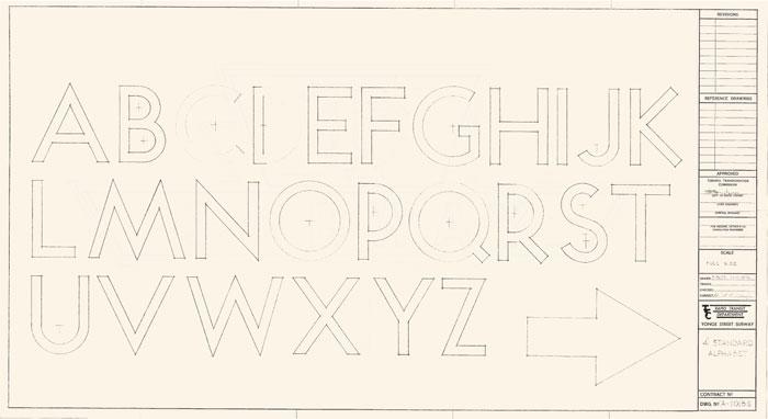 toronto ttc font