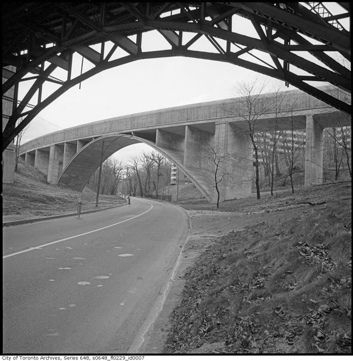 toronto rosedale valley bridge