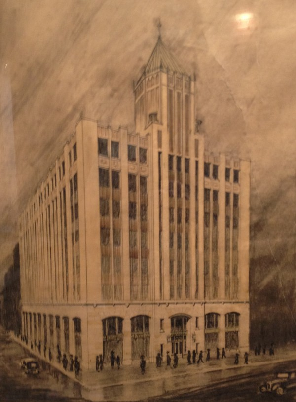 Benjamin Brown's rendering of the Tower Building (1927)