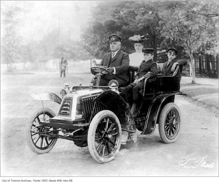 toronto first automobile death
