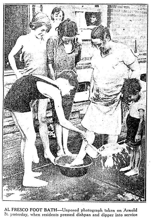 toronto heatwave 1936