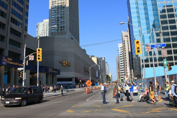The Bay Yonge Bloor
