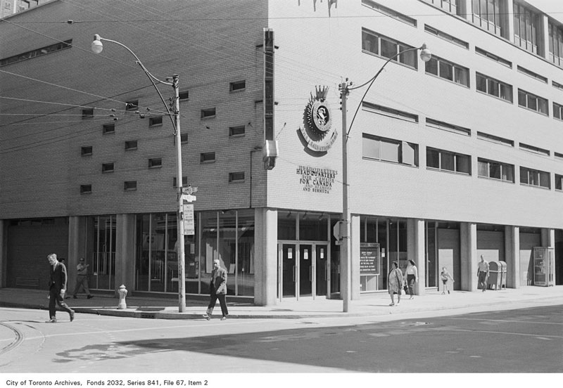 toronto salvation army national headquarters