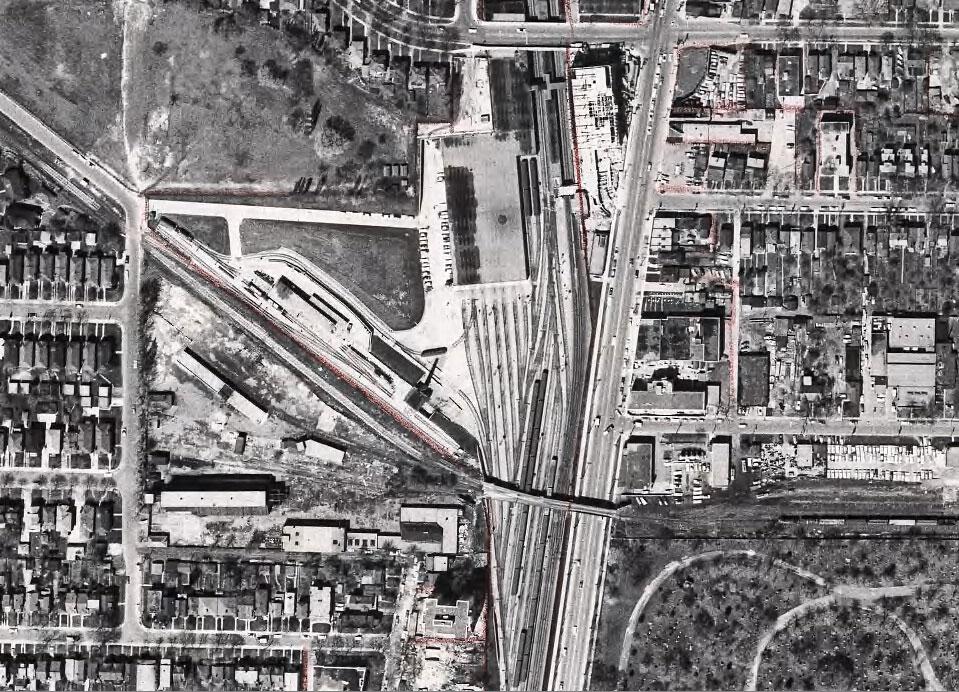 toronto davisville aerial