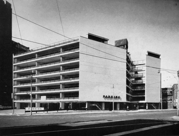 The parking garage of the future spacing toronto in the 1950s the toronto parking authority built two fully automatic parking garages using elevators and a special mechanism cars were deposited into solutioingenieria Gallery