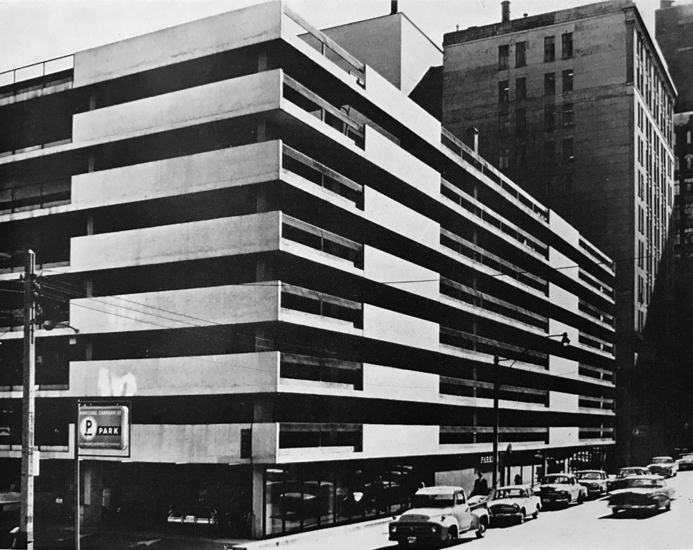 The parking garage of the future spacing toronto for Garage jm auto audincourt