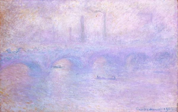 Monet - Waterloo Bridge. Effect of Fog