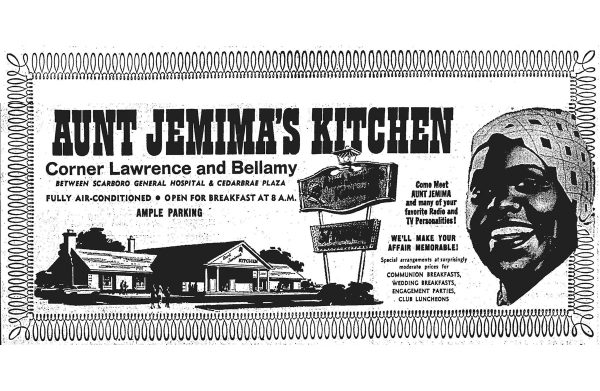 Black History Month: Aunt Jemima Kitchens and a history of southern