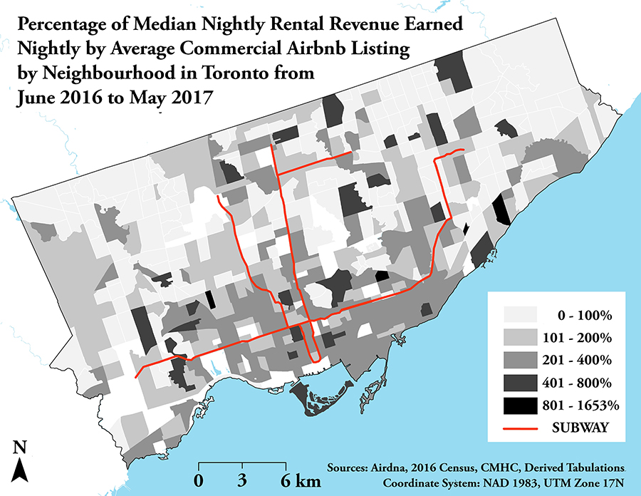 Subway Map Rent.What Airbnb Is Doing To Toronto S Rental Apartment Market Spacing