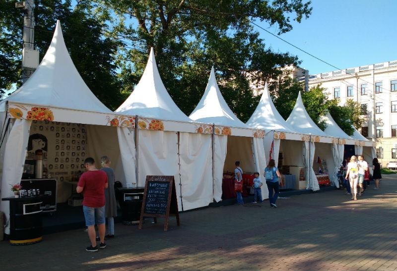 Tent stalls