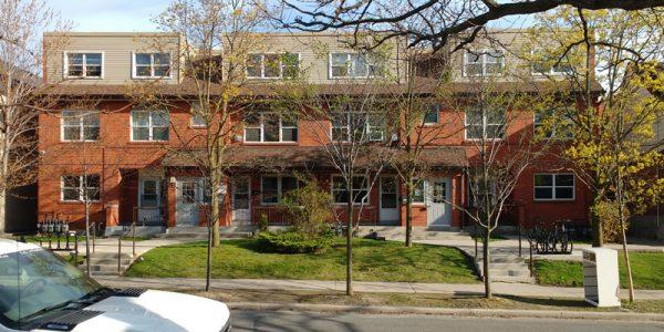Public housing apartments