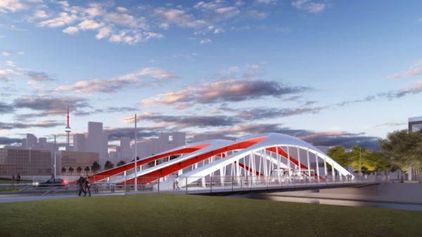 Image of design for new Cherry North bridge