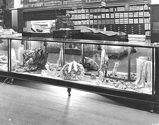 Display Case in David Spencer's Department Store VPL 10546
