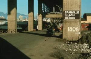 (Entrance to) Granville Island 1976 CVA 1135 - 37