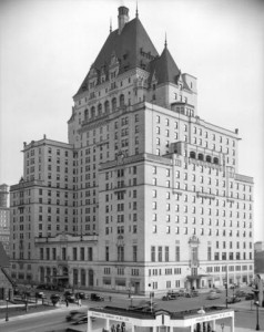 "CVA 5030, 1939. The third Hotel Vancouver, here referred to as ""Canadian National Hotel"""