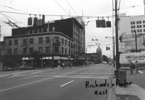 Pender and Richards 1980s. Empress Rooms (now MacLeod's Books) pictured left.