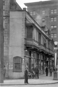 Sam Kee Building, 1936.