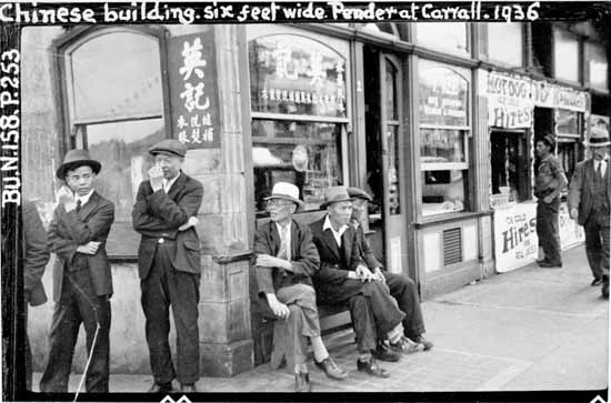 Image result for vancouver chinese historic photo