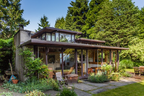 Modernism in vancouver part two west coast modernism for West coast house plans