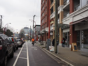 Union Street bike lane. Photo courtesy of Slow Streets.