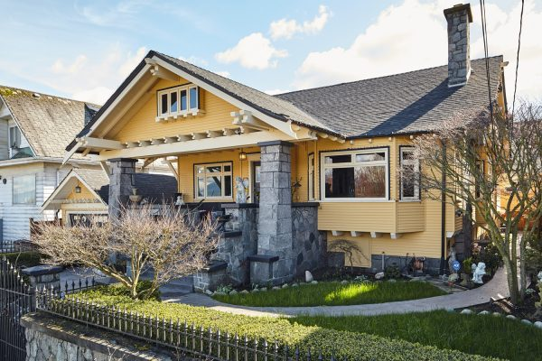 California Bungalow style Craftsman